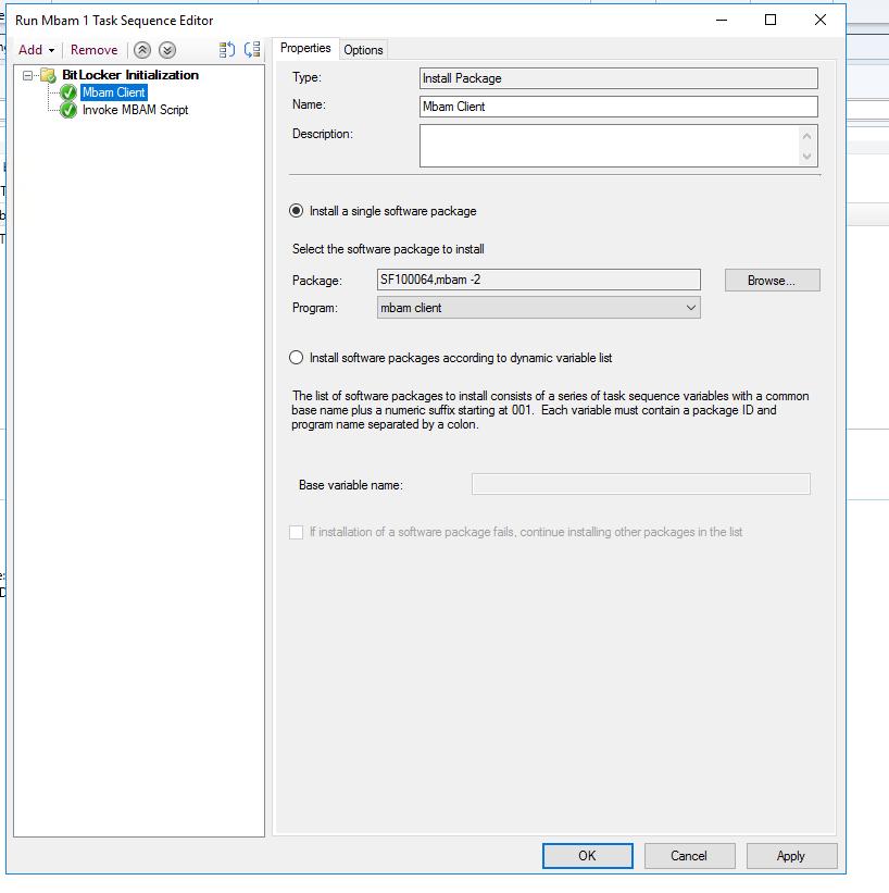 SCCM MBAM/BitLocker 2 5 – Part 4 - Hashmat IT Nerd
